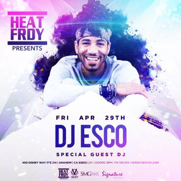 DJ ESCO LIVE @ HEAT LOUNGE-img