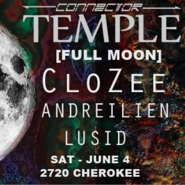Temple - FULL MOON - f/ CloZee + Andreilein + Lusid-img