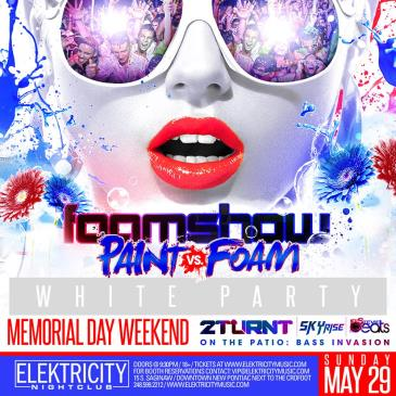 FOAM VS PAINT : WHITE PARTY-img