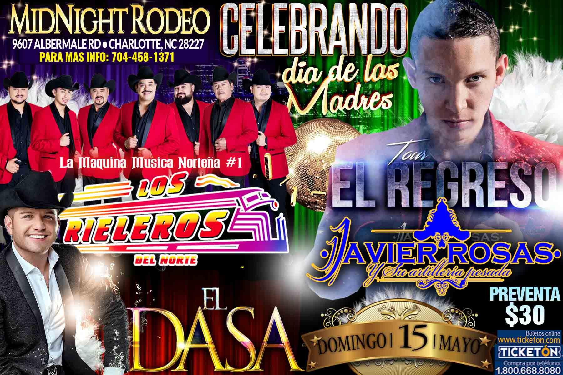 Boletos Para Los Rieleros Y Javier Rosas En Charlotte