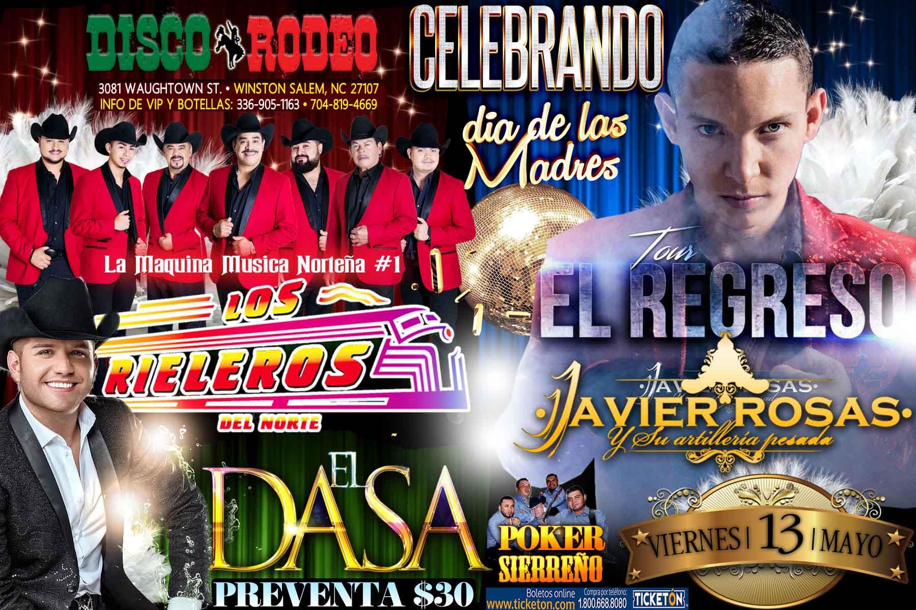 Boletos Para Los Rieleros Y Javier Rosas En Winston Salem