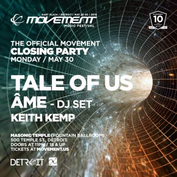 THE OFFICIAL MOVEMENT CLOSING PARTY with TALE OF US and ÂME: Main Image