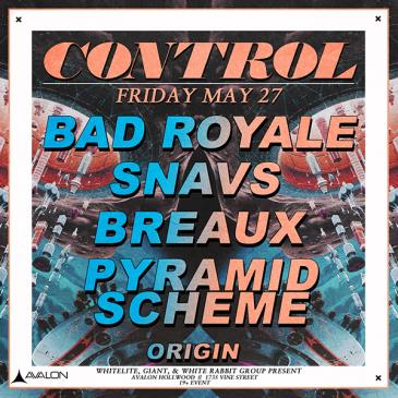 Bad Royale, Snavs, Breaux, Pyramid Scheme-img