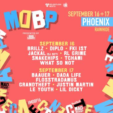 Mad Decent Block Party 2016 - Phoenix