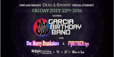 Dead & Company official AfterParty w Garcia Birthday Band: Main Image