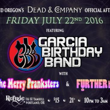 Dead & Company official AfterParty w Garcia Birthday Band-img