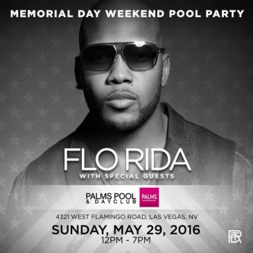 Flo Rida + Special Guests Memorial Day Weekend Pool Party-img