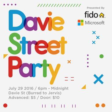 Davie Street Party