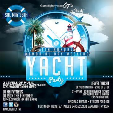 MDW 2016 NYC Boat Party Skyport Marina Jewel Yacht-img