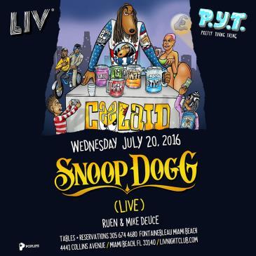 P.Y.T. presents: Snoop Dogg (Live Performance) LIV:
