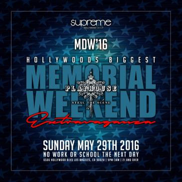 Memorial Weekend Bash @ Playhouse w/ Special Guests-img