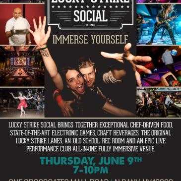 Lucky Strike Social Albany VIP Opening Party!-img