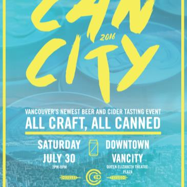 CANcity Beer Festival | All Craft, All Canned
