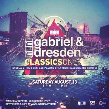 Inoki:Party Presents: Gabriel & Dresden Classics: Main Image