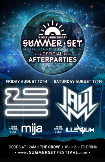 Summer Set Official After Parties: Main Image
