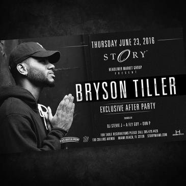 Bryson Tiller #STORYthursday: Main Image