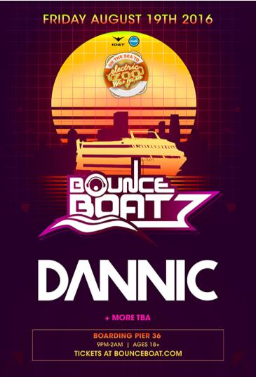 BOUNCE BOAT Featuring DANNIC: Main Image
