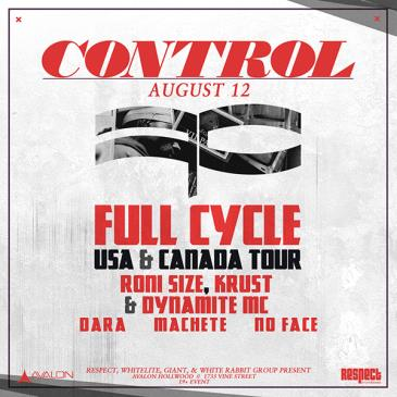 Full Cycle: Roni Size, DJ Krust, MC Dynamite, Dara, Machete-img