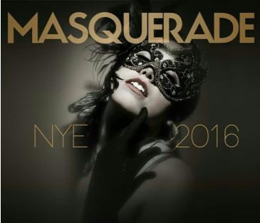 New Years Eve Champagne LIFE: 2017 Masquerade Affair