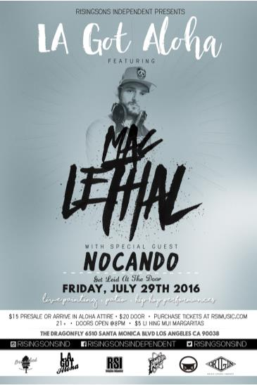 LA Got Aloha Feat. Mac Lethal: Main Image