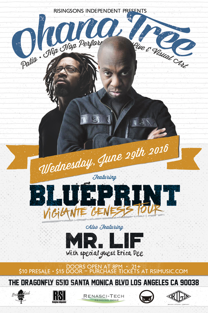 Ohana tree feat blueprint mr lif tickets 062916 ohana tree feat blueprint mr lif main image malvernweather Choice Image
