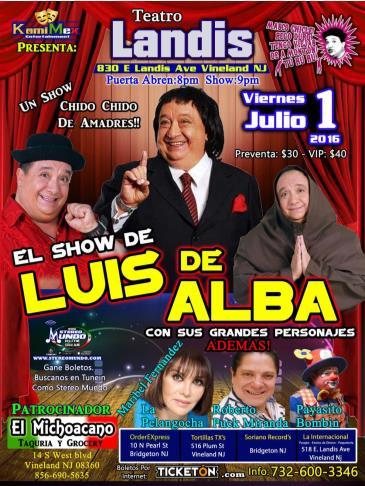 EL SHOW DE LUIS DE ALBA: Main Image