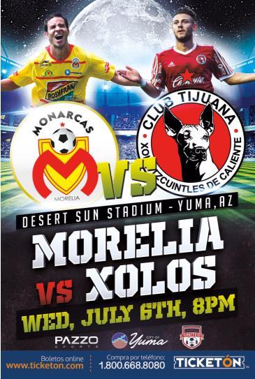 XOLOS vs MORELIA: