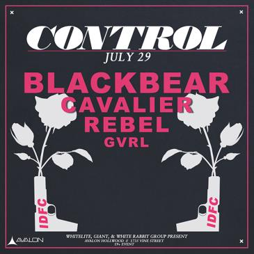 Black Bear, Cavalier, Rebel, Gvrl-img