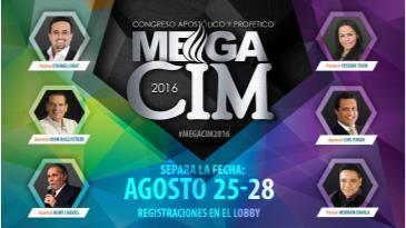 Congreso Apostólico y Profético Mega CIM 2016: Main Image