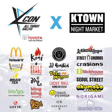 KCON Food Street by KTOWN Night Market-img