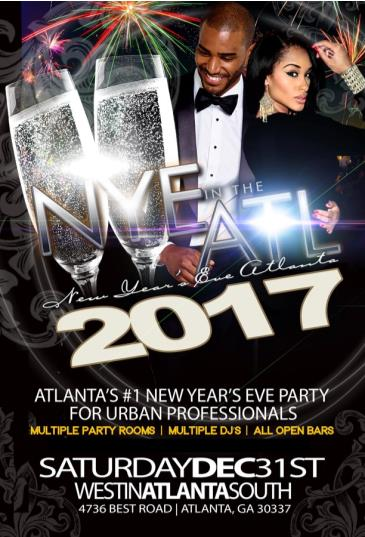 NYE in the ATL 2017 :: New Year's Eve Atlanta