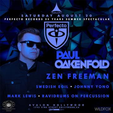 25 Years of Perfecto: Paul Oakenfold, Zen Freeman-img
