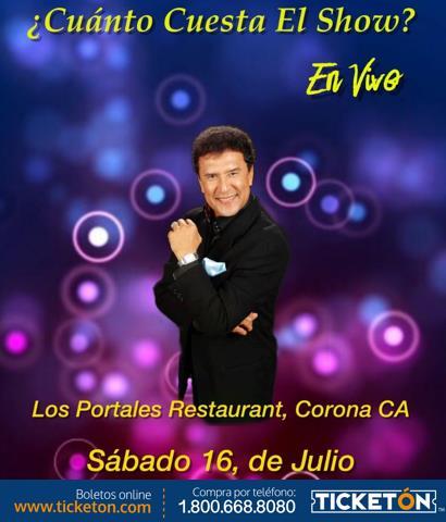 Boletos para cuanto cuesta el show en vivo en corona for Cuanto cuesta el marmol
