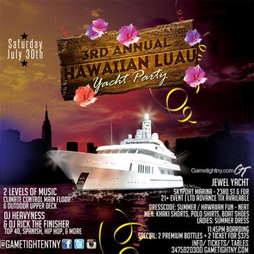 NYC Hawaiian Luau Cruise at Skyport Marina Jewel Yacht-img