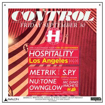 Hospitality: S.P.Y. Metrik, Nutone, Ownglow, MC Dino,-img