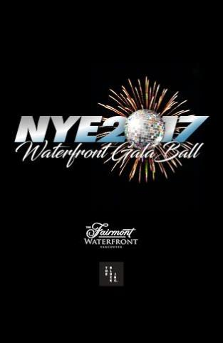 NYE 2017 WATERFRONT GALA BALL