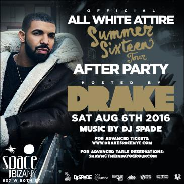 Drake's Official Summer Sixteen Tour After Party at Space NY-img
