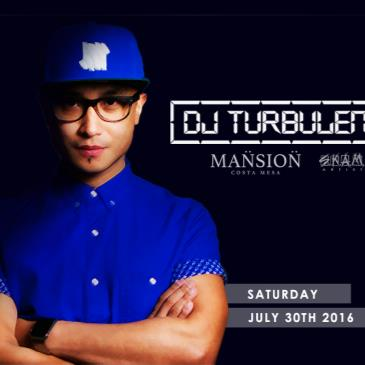 WORLD FAMOUS DJ TURBULENCE LIVE!-img