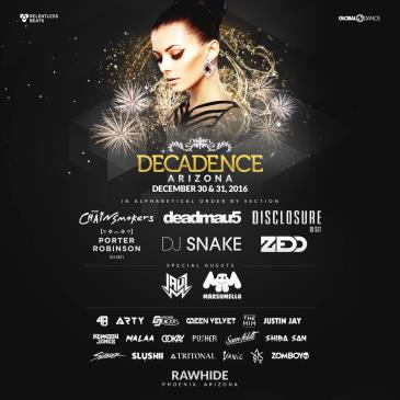 Decadence NYE 2016 - Arizona