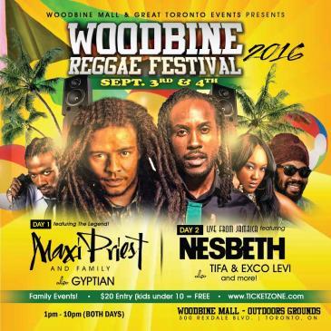 WOODBINE REGGAE LOVE FESTIVAL