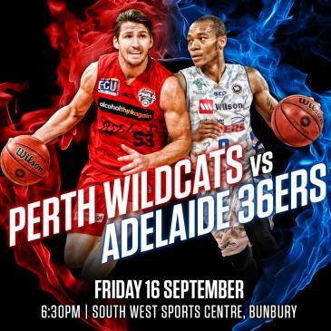 Perth Wildcats vs Adelaide 36ers Pre-Season Game