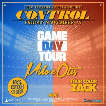 Gameday Tour - Milo & Otis, Nick CatchDubs, Four Color Zack-img