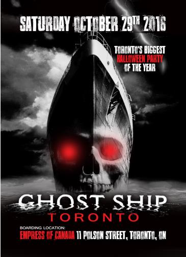GHOST SHIP 2016