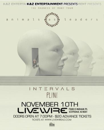 Animals As Leaders: Main Image