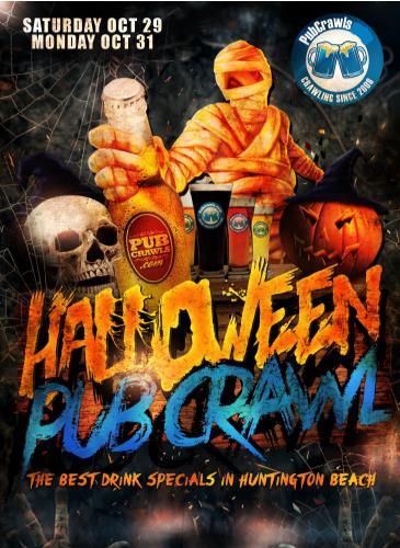 Official Halloween Pub Crawl Newport Beach