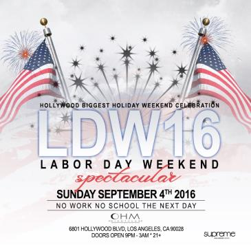 Labor Day Weekend Spectacular @ OHM Nightclub-img