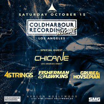 Coldharbour Night: Chicane (LA Debut) 4 Strings,: Main Image