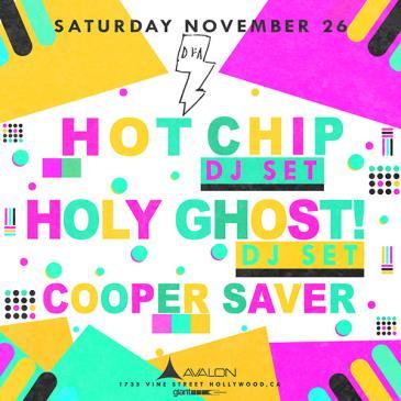 Hot Chip DJ Set, Holy Ghost DJ Set, Cooper Saver: Main Image