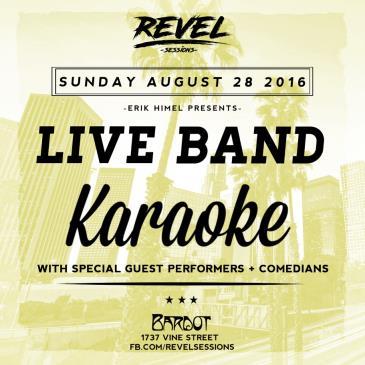 Revel Sessions Ft. Live Band Karaoke, DJs + Special Guests-img