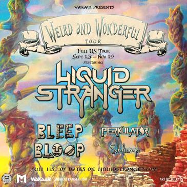 Liquid Stranger + Bleep Bloop + Perkulat0r + Shlump-img